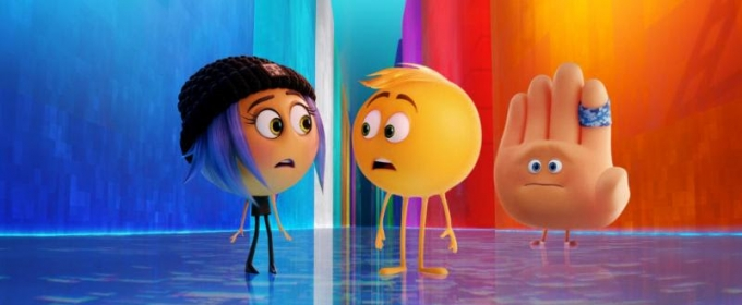 VIDEO: First Look - Discover the Secret World Inside Your Phone in THE EMOJI MOVIE