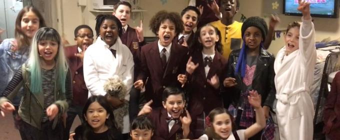 BWW TV: Broadway's SCHOOL OF ROCK Sends Congrats to Olivier-Winning West End Cast