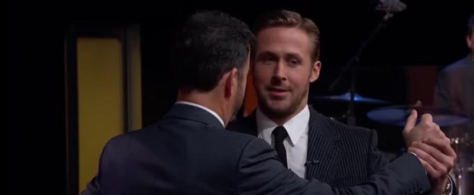 VIDEO: Ryan Gosling Talks 'La La Land' & Teaches Jimmy Kimmel How to Waltz