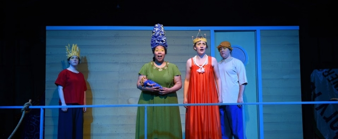 Photo Flash: Get a Post-Electric Look at MR. BURNS at Luminous Theatre