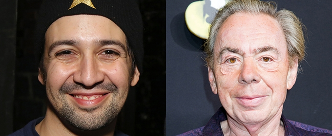Lin-Manuel Miranda and Andrew Lloyd Webber to Chat Live from The Other Palace