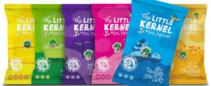 THE LITTLE KERNEL – A New, Delicious, Healthy Brand for Popcorn Lovers