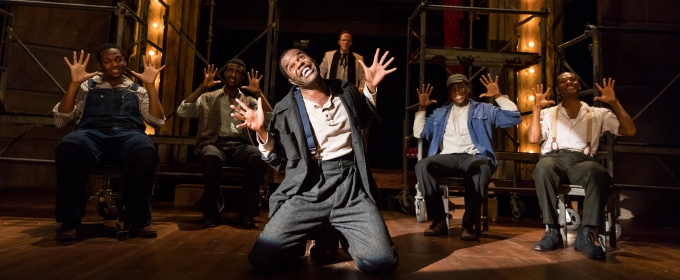 Photo Flash: First Look at THE SCOTTSBORO BOYS, Returning to SpeakEasy Stage
