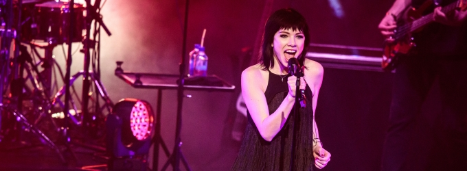 Photo Flash: GRAMMY Nominee and Stage Star Carly Rae Jepsen Kicks Off New Year's in Las Vegas