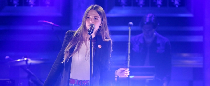 VIDEO: Maggie Rogers Performs 'Alaska' on TONIGHT SHOW