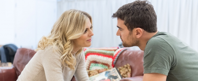 Photo Flash: Sneak Peek at Emilia Fox and Theo James in Rehearsal for SEX WITH STRANGERS at Hampstead Theatre