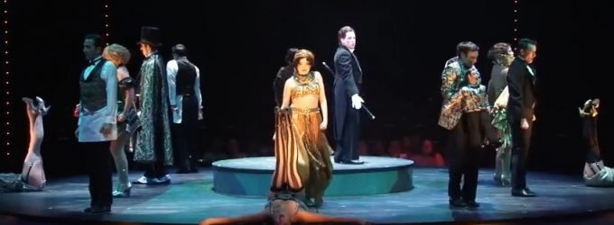 STAGE TUBE: Watch Highlights of Music Circus' CABARET, Starring Robin De Jesus, Hunter Ryan Herdlicka and More!