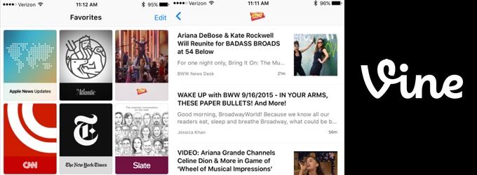 New! BroadwayWorld Joins Apple News & Vine; Plus Catch Up on Social Media!