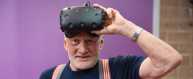 'Buzz Aldrin: CYCLING PATHWAYS TO MARS' Virtual Reality Experience Premieres at SXSW