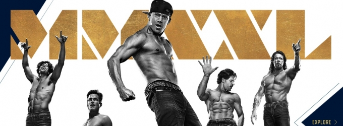 First Look - Matt Bomer & More in All New Poster Art for MAGIC MIKE XXL