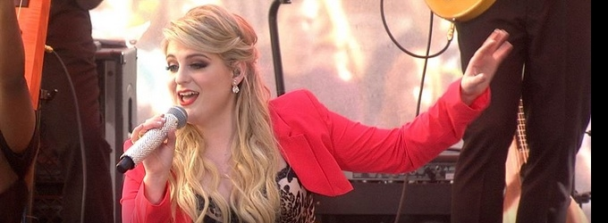 Meghan Trainor Kicks Off TODAY's Summer Concert Series with 2 Performances!