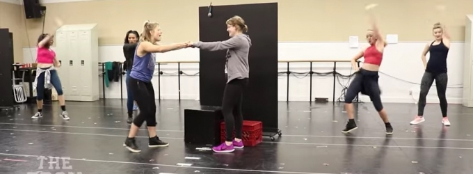 STAGE TUBE: The Cast of the Pre-Broadway World Premiere of THE PROM Performs 'You Happened' in Rehearsal