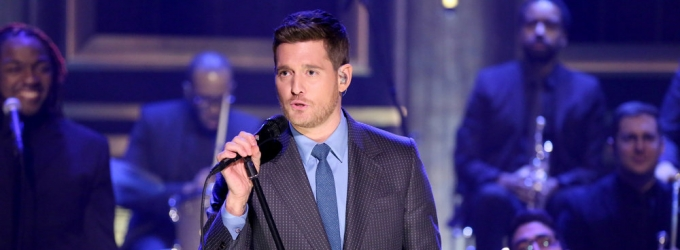 Michael Buble on TONIGHT SHOW