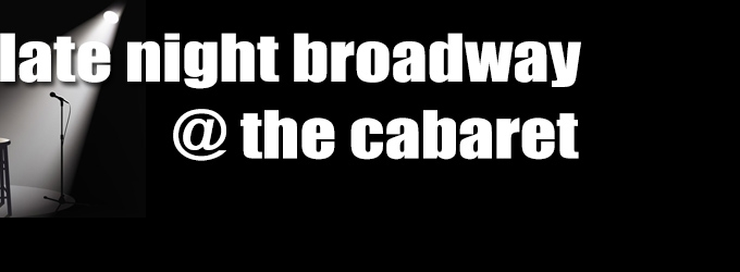 Broadway at the Cabaret - Top 5 Cabaret Picks for May 25-31, Featuring Laura Osnes, Nick Spangler, and More!