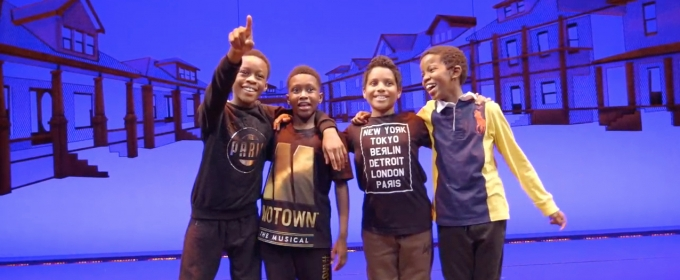 BWW TV: Meet MOTOWN THE MUSICAL's Young Michaels