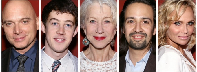 Photo Coverage: Outer Critics Circle Celebrates 2015 Award Winners - Helen Mirren, Lin-Manuel Miranda & More!