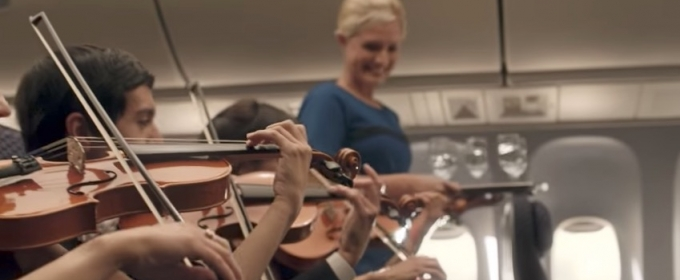 VIDEO: Funny Or Die Updates United Airlines' 'Orchestra' Video Showing Passenger Ejection