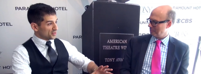 BWW TV Exclusive: BACKSTAGE WITH RICHARD RIDGE- Tonys Special with 2015 Nominee Tony Yazbeck!