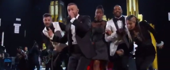 VIDEO: Justin Timberlake Kicks Off OSCARS with 'Can't Stop the Feeling'