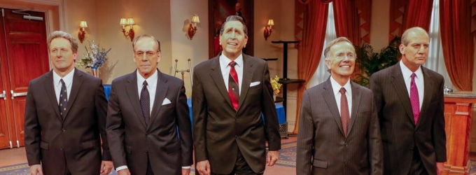 BWW Reviews: The East Coast Premiere Of FIVE PRESIDENTS At The Bay Street Theatre