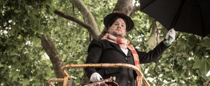 Photo Flash: First Look - James Corden Stops Traffic for 'Crosswalk the Musical: MARY POPPINS'