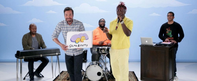 VIDEO: Lil Yachty & Jimmy Fallon Rap About  59 SIMPSONS Characters