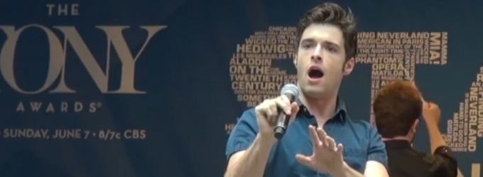 BWW TV: Thank Heaven for Corey Cott! Watch Him Sing from GIGI at Stars in the Alley