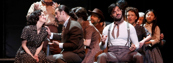 Photo Flash: First Look at Caroline Bowman, Ramin Karimloo and More in Vancouver Opera's EVITA