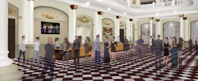 STAGE TUBE: First Look at Massive Renovation Project of the Cincinnati Music Hall; Set to Open October 2017