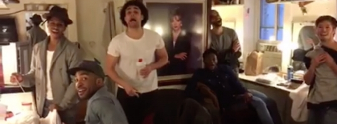 STAGE TUBE: HAMILTON Tributes RENT's 20th Anniversary with Backstage 'Seasons of Love'