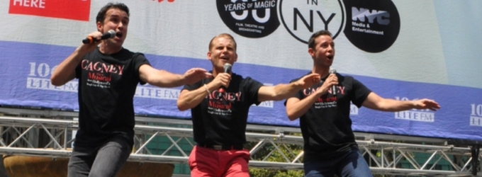 BWW TV: CAGNEY Cast Transports Bryant Park Back in Time!