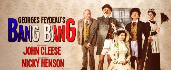 Cast Announced as John Cleese Collaborates with the Mercury Theatre Colchester in BANG BANG