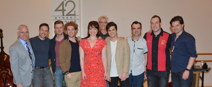 Photo Coverage: Cast of Paper Mill Playhouse's MILLION DOLLAR QUARTET Meets The Press