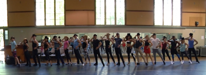 BWW TV: In Rehearsal with the One, Singular, Sensational Cast of A CHORUS LINE at the Hollywood Bowl!