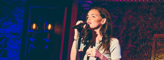 Photo Flash: Jennifer Damiano Makes Stunning Solo Debut at Feinstein's/54 Below