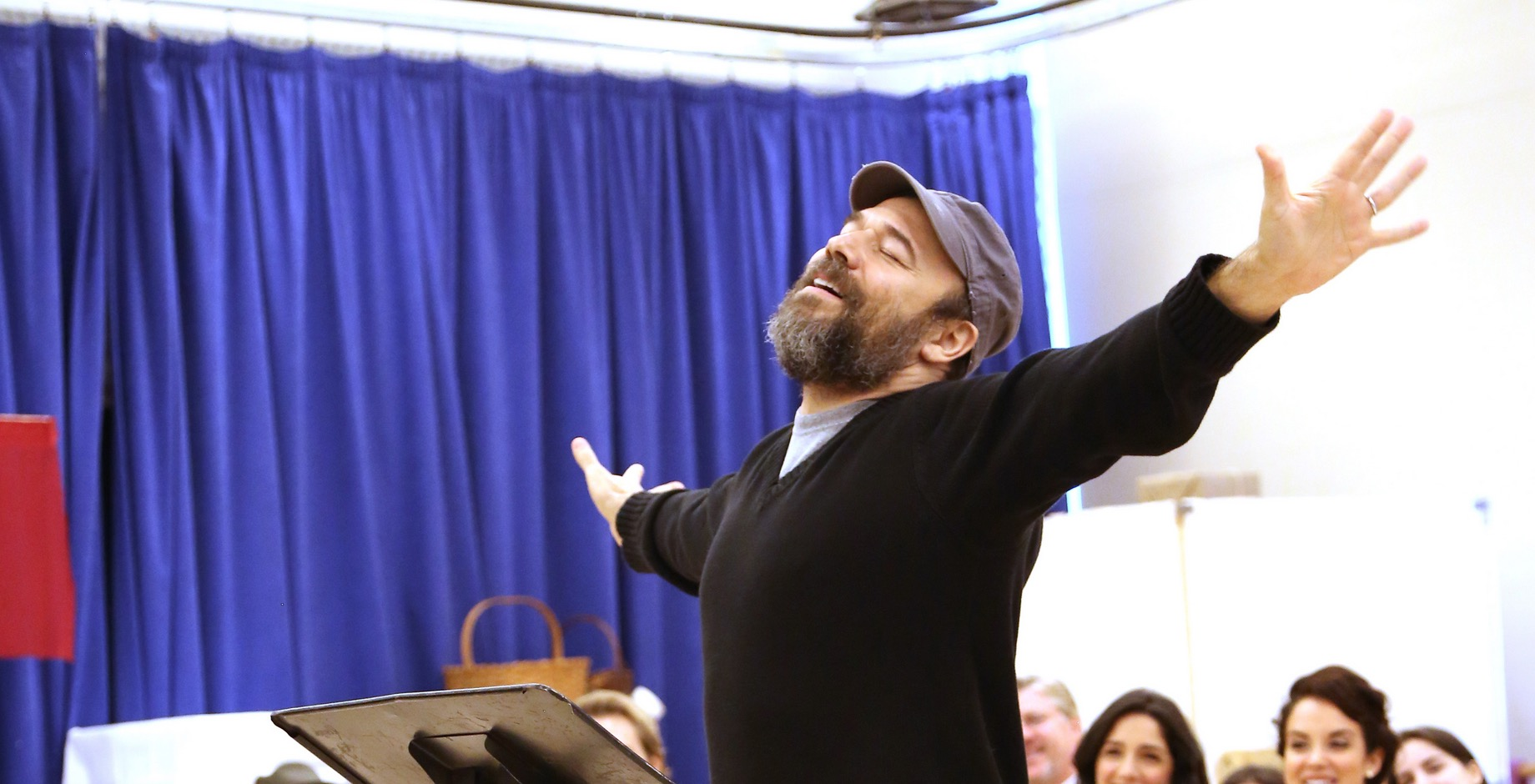 Photo Coverage Go Inside Rehearsal With Danny Burstein