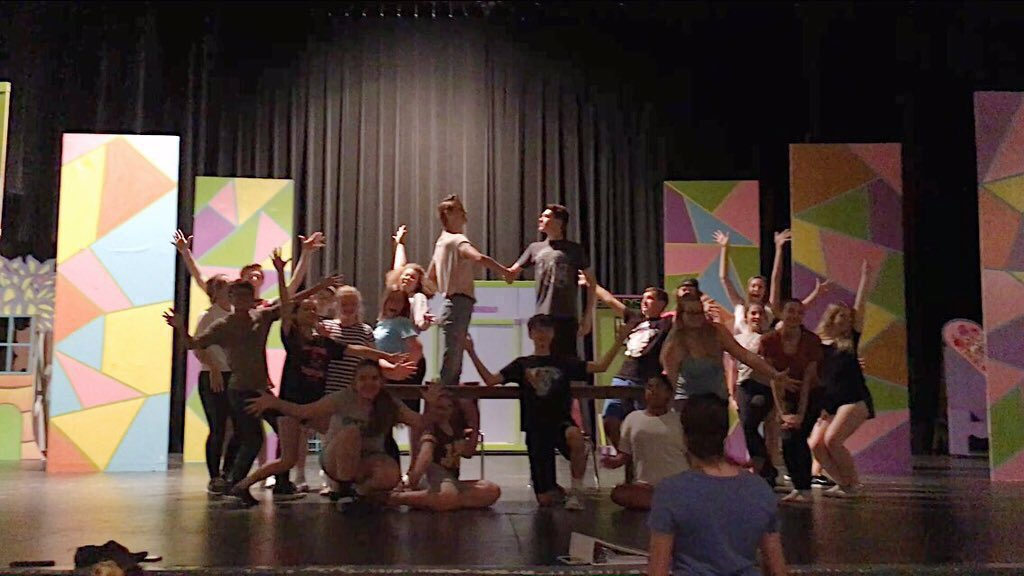 BWW Blog: HOW TO SUCCEED at SDOHS Soars Into Second Week of Rehearsals