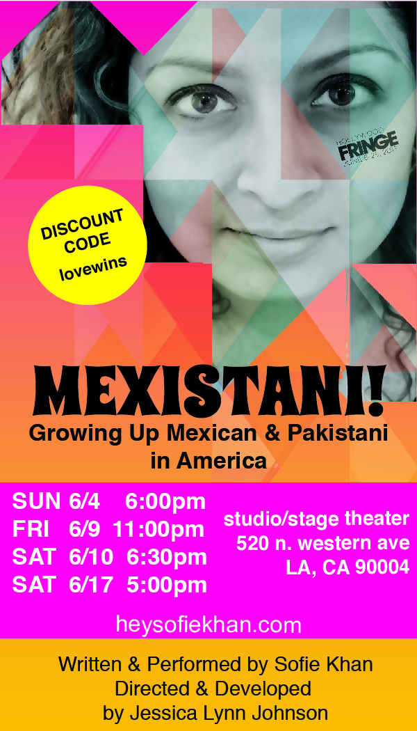 Hollywood Fringe Festival Welcomes New Show MEXISTANI