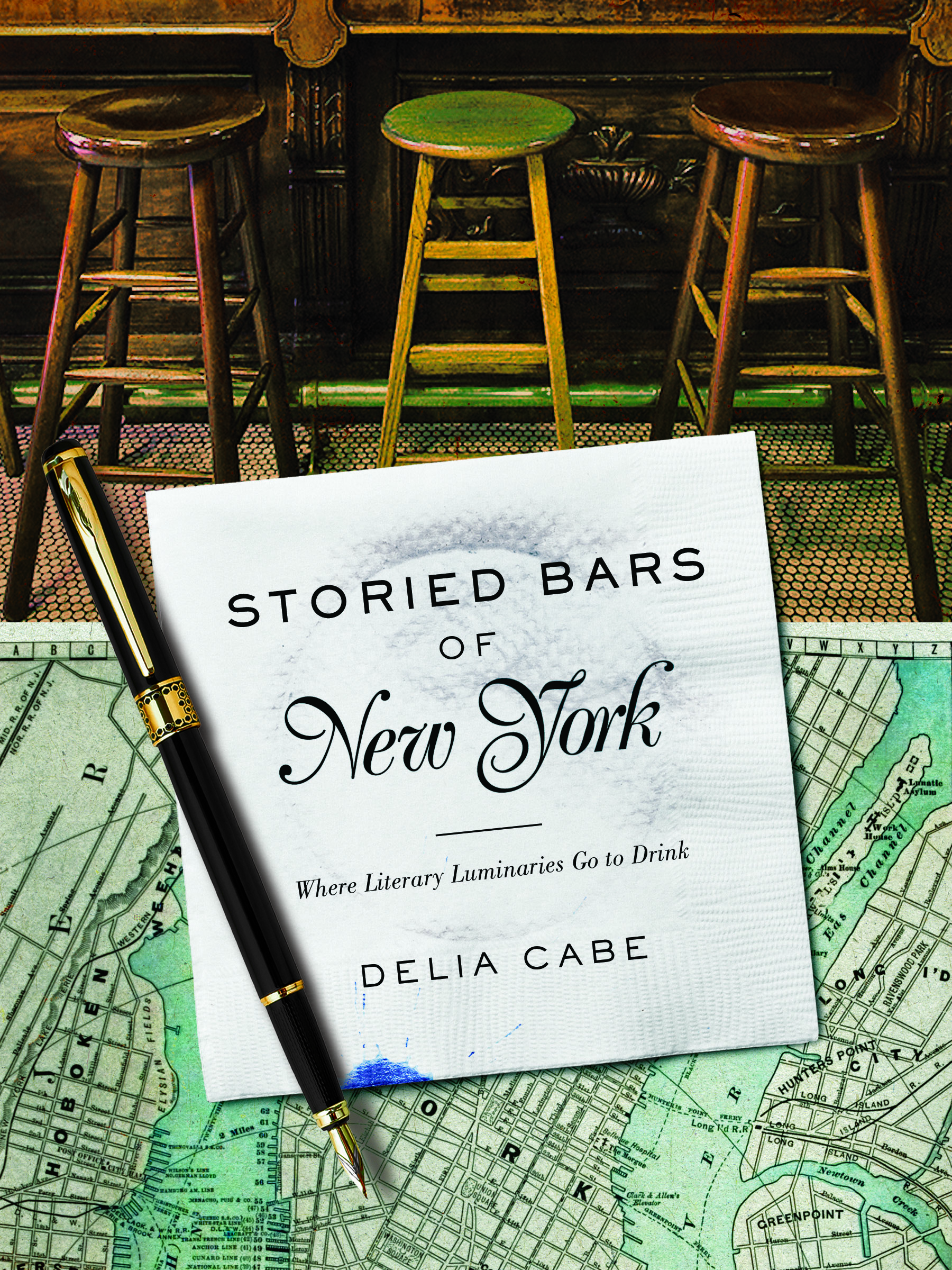 BWW Interview: Delia Cabe, author of STORIED BARS OF NEW YORK