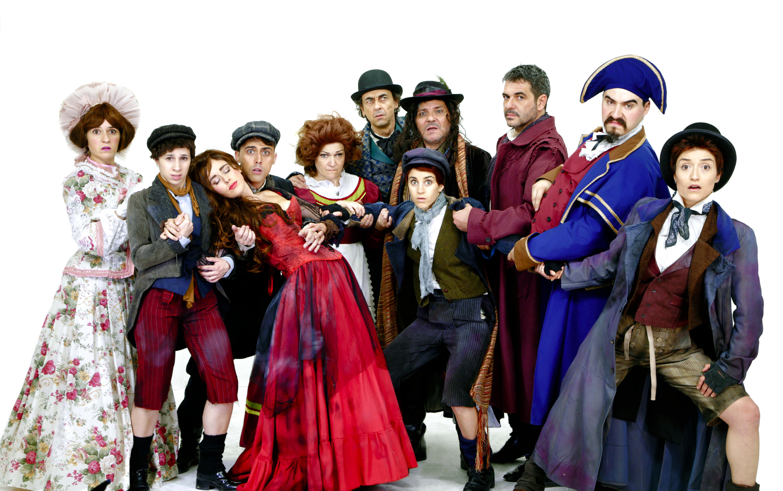 El musical familiar OLIVER TWIST, EL PEQUEÑO HUERFANO llega al Teatro Marquina de Madrid
