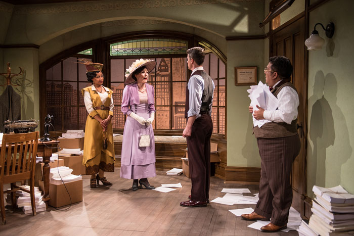 BWW Review: RTW's Surreal THE VIOLET HOUR Subtly Colors The Future