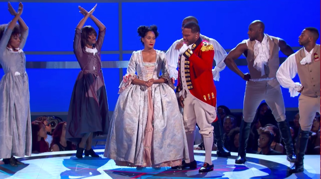 VIDEO: Tracee Ellis Ross & Anthony Anderson Open 2016 BET AWARDS with HAMILTON Parody