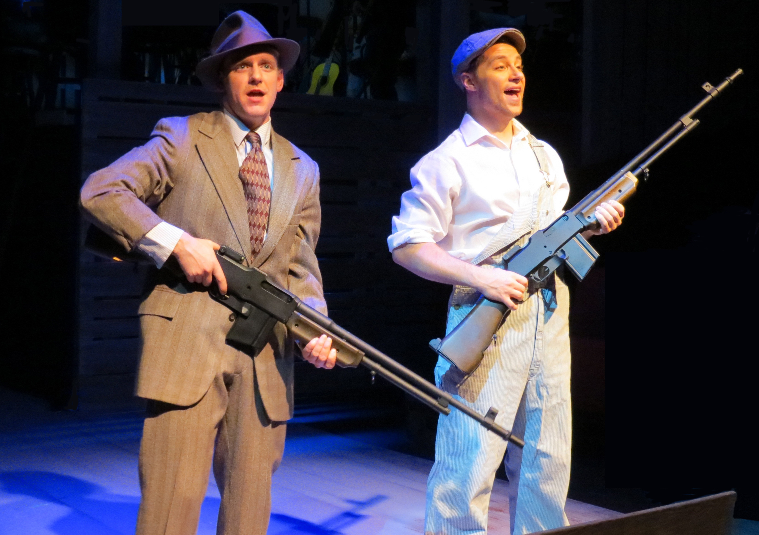 BWW Review: BONNIE & CLYDE at Town Hall Arts Center
