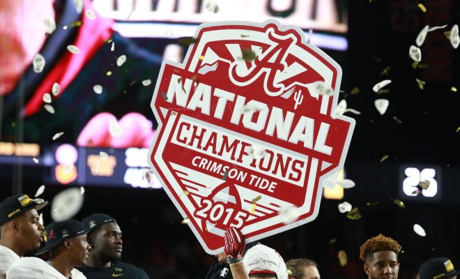 whos playing in the national championship alabama football news espn
