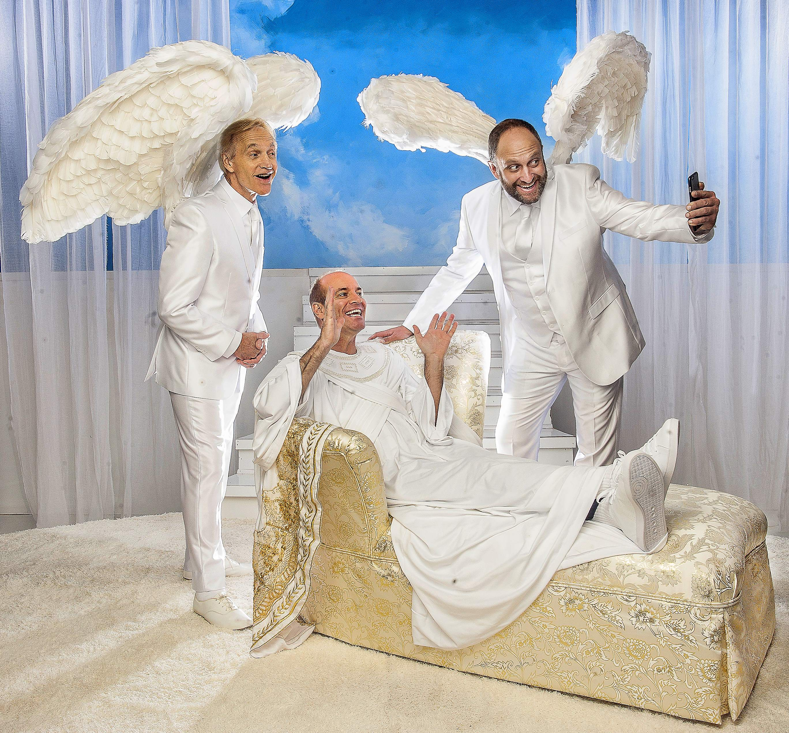 BWW Review: AN ACT OF GOD at GableStage - Orgasmic Cries to God Now a No No