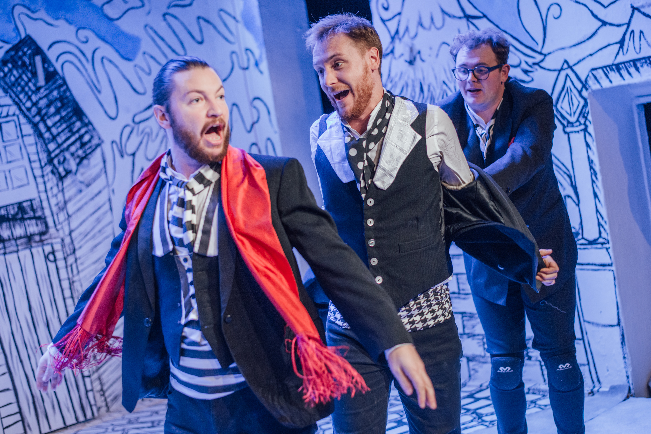 BWW Review: SCROOGE AND THE SEVEN DWARVES, Theatre503, 28 November 2016
