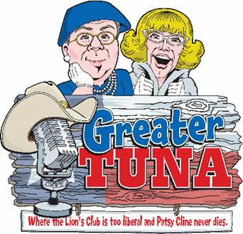 All New GREATER TUNA Tour With Co-Creator Jaston Williams Directing