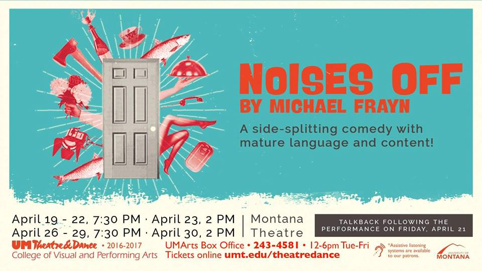 BWW Review: NOISES OFF Brings Laughter and Mayhem to University Of Montana