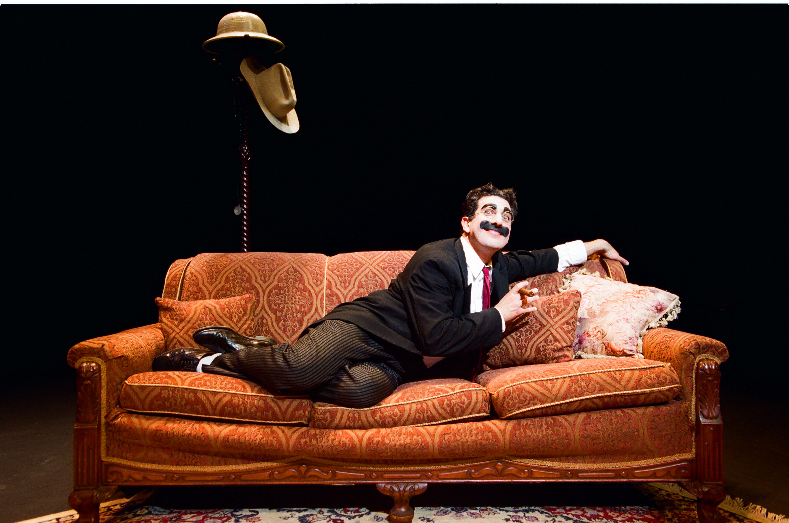 BWW Review:  Stackner Cabaret Invites Comic Spirit to Milwaukee in AN EVENING WITH GROUCHO