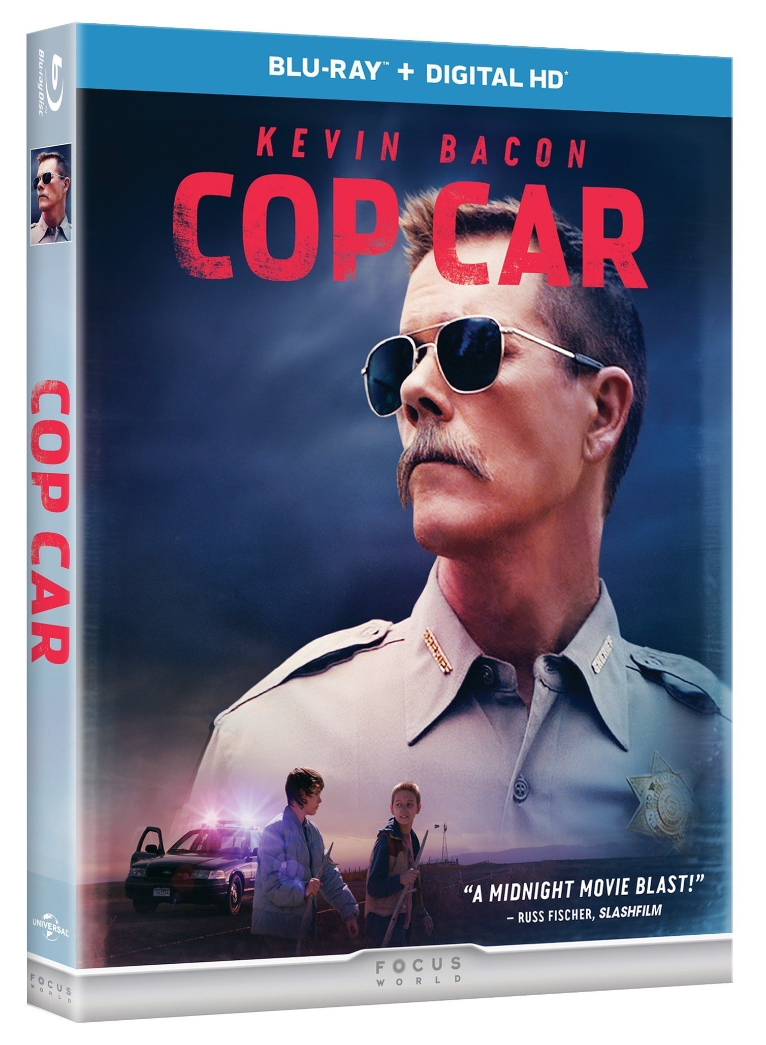 COP CAR, Starring Kevin Bacon, Comes to Digital HD, On-Demand & DVD Today